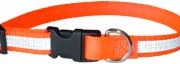 Personalized Embroidered Reflective Quick Release Snap Collars